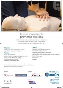 cartel primeros auxilios