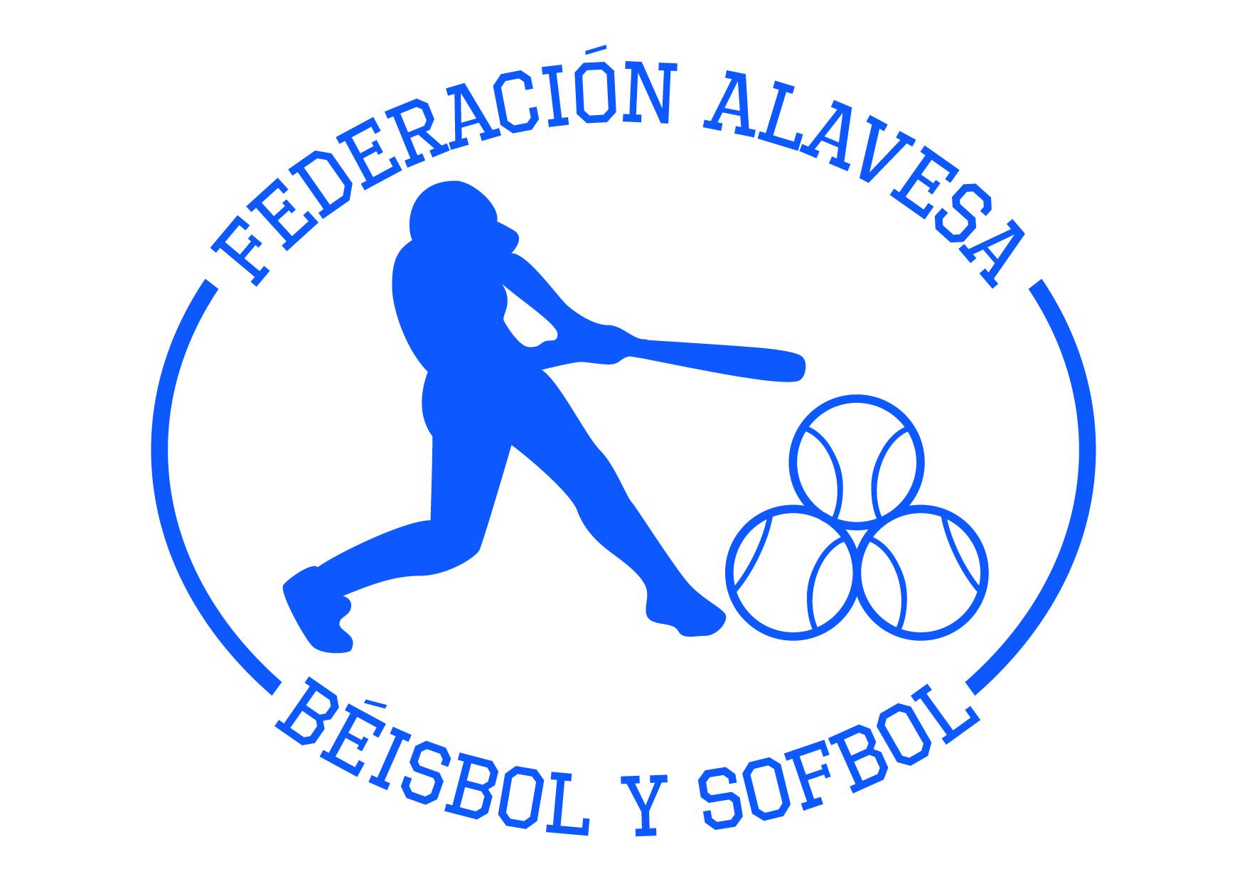 Logotipo Federación Alavesa de Béisbol y Sofbol