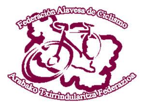 Logo federación alavesa de ciclismo